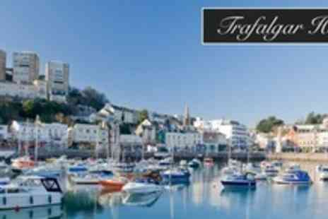 Trafalgar House - Three Night Torquay Stay For Two With Breakfast, Afternoon Tea - Save 57%