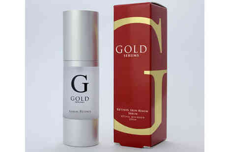 Skin Chemists - Gold Serums retinol skin serum  - Save 79%