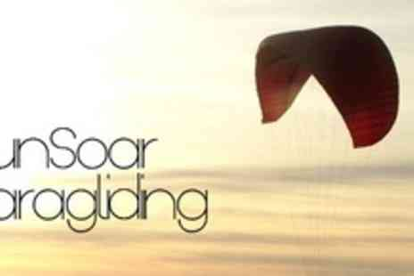 SunSoar Paragliding - One Day Introductory Paragliding Course - Save 55%