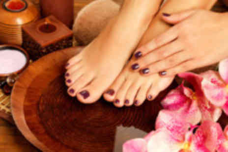 Pretty Hair & Beauty - Gel polish on hands & feet - Save 70%