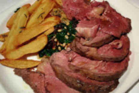 ramsons - Three course lunch for 2 people  - Save 59%