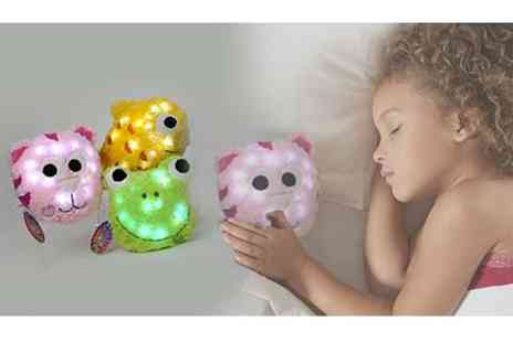BW Group -  9 Inch  light up animal cushions - Save 63%