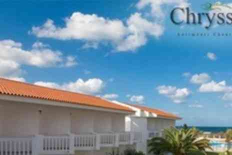 Chryssana Hotel - Four Night Stay For Two With Breakfast and Three Course Meal from 1 to 30 June and 11 to 30 September 2012 - Save 55%