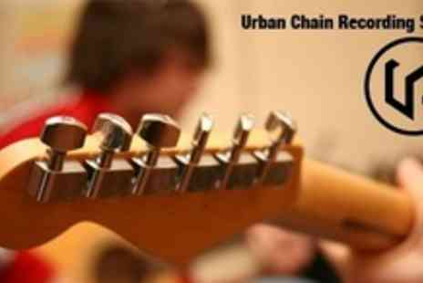 Urban Chain Studios - Four Hour Instrument Recording Session With Sound Engineer and Producer - Save 67%