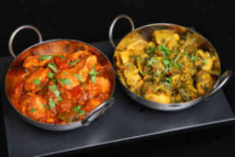 Disley Masala - Two course Indian meal  for 2 people  - Save 62%