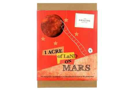 Moon Estates - An acre of land on Mars - Save 44%