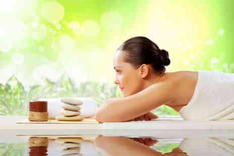 Lisa at Beauty Beehive -  60 minute full body hot stone massage Plus luxury facial & scalp massage - Save 50%