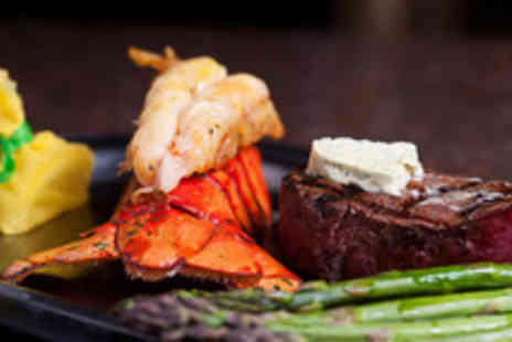 SIAIM Restaurant - Surf and turf or lobster thermidor for one - Save 50%