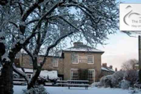 The Swan at Hay Hotel - One Night Stay For Two With Bottle of Wine or Cream Tea - Save 54%