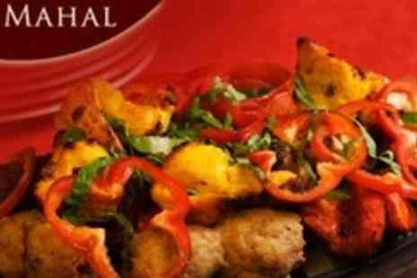 Pir Mahal - Two Course Indian Meal For Four With Sides and Drinks - Save 72%