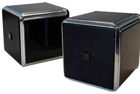 Advanced Mp3 Players - SoundScience QSB 30W Desktop Speakers - Save 77%