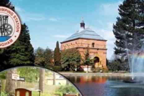 Papplewick Pumping Station - Two Adult and Two Child Tickets to New Year Steam Weekend - Save 50%