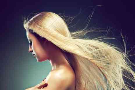 Karda Hair & Beauty - Half head of highlights or full head of colour condition cut blow dry and a glass of bubbly  - Save 70%