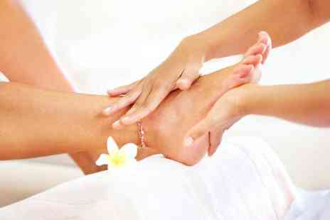 Enzo Beauty - One hour luxury pedicure and foot callus treatment - Save 50%