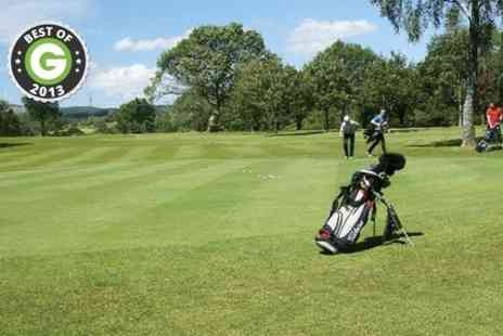 Glynneath Golf Club -  18 hole Round For Two - Save 63%