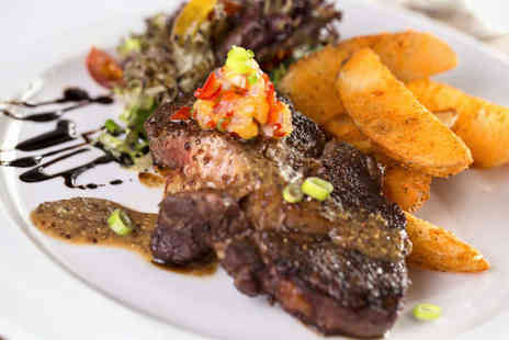 The Sidings - Rib Eye or Sirloin Steak Served with all the Trimmings for Two  - Save 57%