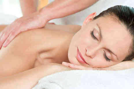 Zest Beauty Clinic - Pamper Package with Derma Glo Facial Relaxing Back Massage Mini Manicure and Glass of Bubbly - Save 58%