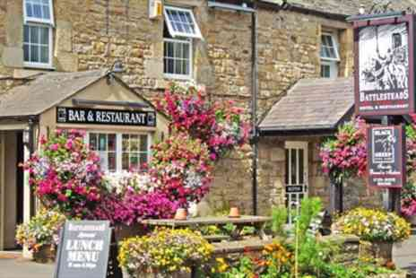 Battlesteads Hotel - Superb Seven Course Dinner for Two - Save 50%