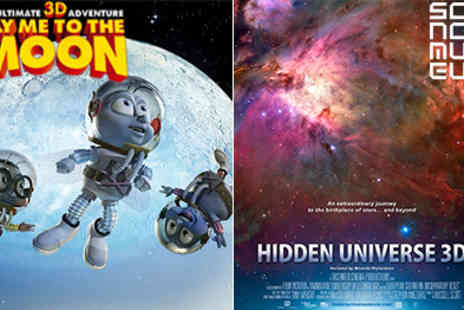 Science Museum - Family ticket to IMAX 3D Animated Film Hidden Universe or Fly Me to the Moon  - Save 50%