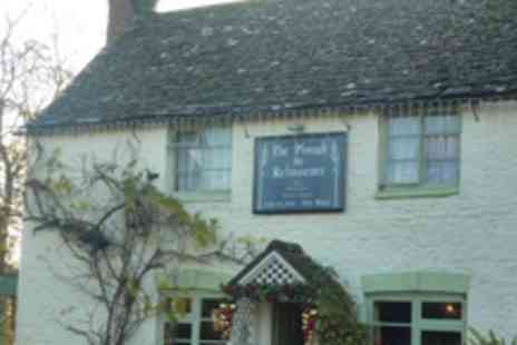 The Plough Inn - 2 night stay for 2 with Cream Teas, Breakfast & a Bottle of Wine - Save 62%