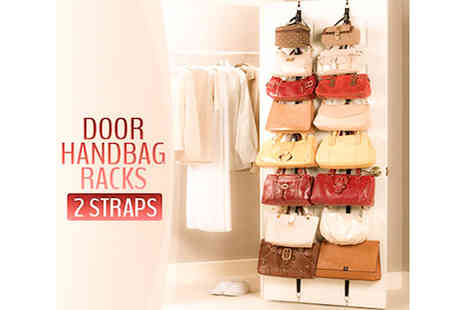 E-Best - Over the Door Bag Rack X2 - Save 50%