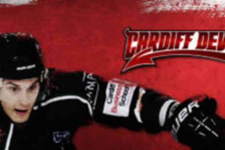 Cardiff Devils - Adult tickets for an ice hockey game - Save 54%