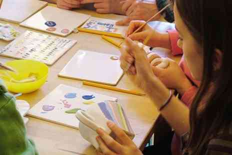 Doodle Pots - Pottery Painting Experience For One  - Save 50%