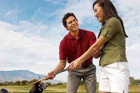 Shirehampton Park Golf Club 2 - 60 Minute PGA Lessons With Video Analysis - Save 53%