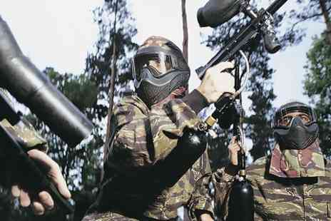 Paintball Commando -  Full Day Session For Six People