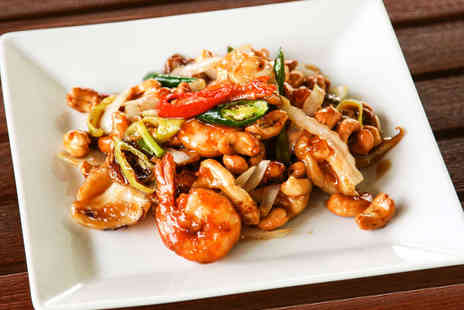 Mei Ling Chinese Restaurant - Starter Main Course  Rice Dish, and Glass of Wine Each for Two 