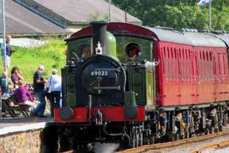 Wensleydale Railway - Tea and Train Ride for two  - Save 46%