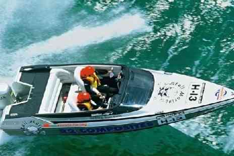 Saber Powersports - Exclusive 2hr power boat driving experience - Save 76%