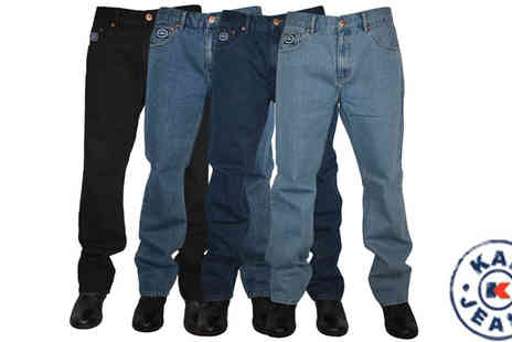 My1stWish - Mens Forge by Kam Comfort Fit Jeans - Save 60%