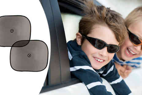 Mytouchscreen - Two Car Window Sunshade Screens - Save 62%