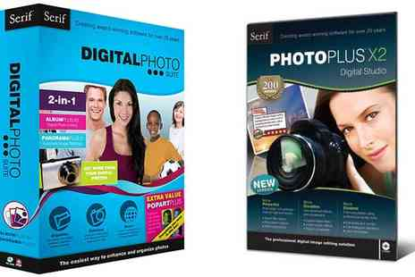 UK Surplus Central - Serif Photoplus X2 and Digital Photo Suite Bundle - Save 78%