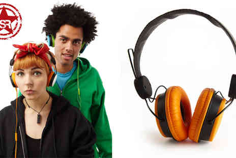 Pocket Media - Sonic Revolution Customisable Headphones - Save 68%