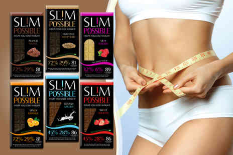 Eczeminate - Four bars of SLIMPOSSIBLE chocolate - Save 33%