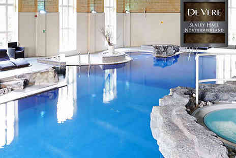 De Vere Slaley Hall - Indulgent Spa Experience for One  - Save 55%