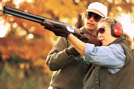 Cloudside Shooting & Sporting Club - Clay Shooting Experience with Breakfast Bap - Save 68%