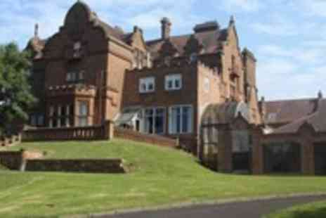 Adamton Country House Hotel - One night South Ayrshire break for 2 with breakfast - Save 51%