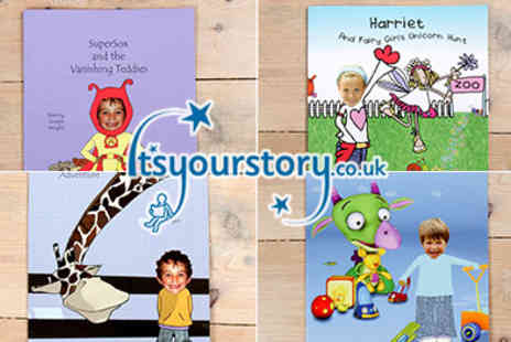 Itsyourstory - Fantastic range of Personalised Kids Books  - Save 50%