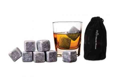 Mega Deals UK - Whiskey stones ice set - Save 69%