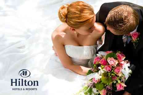 Hilton East Midlands - Wedding Package For 50 Day and 80 Evening Guests - Save 55%