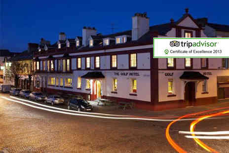 Golf Hotel - Two night stay for 2 with a full English breakfast � save 45%