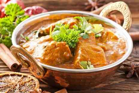Broadstone Lounge - Two Course Indian Meal For Two  - Save 47%