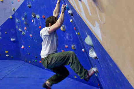 The Climbing Academy - Bouldering Induction with Shoe Hire and Two Future Passes - Save 76%