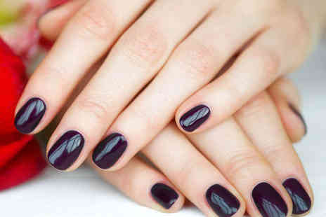 Fabznation - Choice of Manicure or Pedicure with Shellac or Gelish Nail Polish - Save 52%