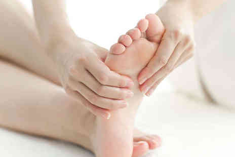 Patti Hemmings - One Hour Long Reflexology Session - Save 53%