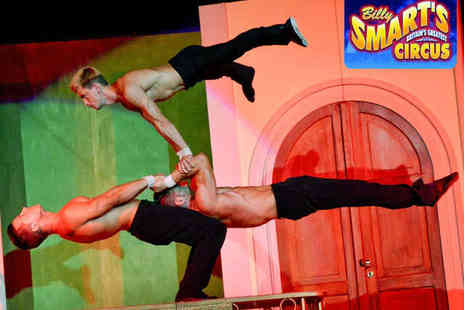 Billy Smart's Circus - Front Circle Ticket to the Circus for One  - Save 56%