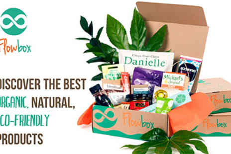 Flowbox - Subscription Discover Exceptional Healthy Natural Eco Friendly  - Save 51%